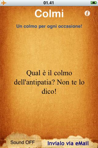 screenshot Colmi app per iphone