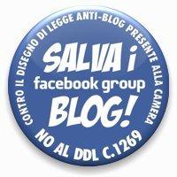 vai al gruppo su FaceBook Contro il DDL anti-Blog presente alla Camera