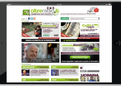 Oltreradio.it Web radio ondemand e live